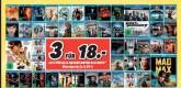 Medimax.de: 3 Blu-rays für 18€