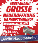 [Lokal] Media Markt Berlin: Neueröffnung am Hauptbahnhof mit Eröffnungsangeboten