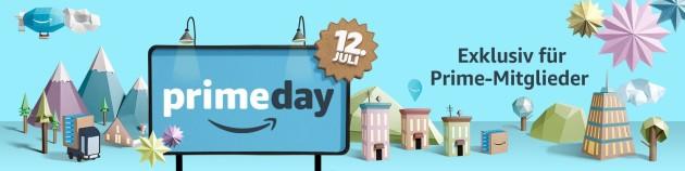 Amazon.de: Prime Day 2016 ist Amazons größtes Event – exklusiv am 12. Juli für Prime-Mitglieder