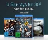 Amazon.de: Neue Aktionen (27.06.16) und 6 Blu-rays für 30 EUR