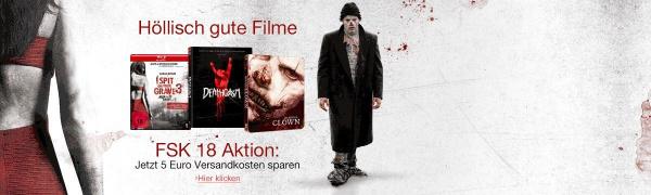 FSK18 Aktion 5€ VSK sparen (Amazon.de)