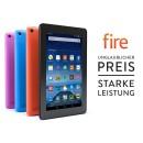 Amazon.de: Fire, 17,7 cm (7 Zoll) Display, WLAN, 8 GB (Schwarz) – mit Spezialangeboten für 49,99€ inkl. VSK
