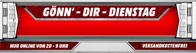 MediaMarkt.de: Gönn´dir Dienstag z.B. GTA 5 [PS4] für 30€ inkl. VSK