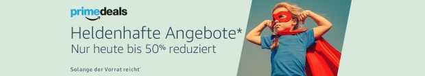 Amazon.de: Prime Deals am 16.06.16 – Heldenhafte Angebote