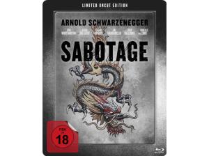 Sabotage-(Steelbook-Edition--Exklusiv-Saturn-Limited-Uncut-Edition-mit-Lentikularkarte)---(Blu-ray)