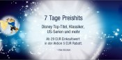 Amazon.de: Disney – 7 Tage Preishits mit 5€ Rabatt ab 29€