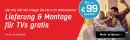 Redcoon.de: Lieferung und Montage für TV´s gratis (bis 15.06.16)