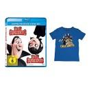 Amazon.de: Hotel Transsilvanien 1+2 Blu-ray und T-Shirt für 19,99€ + VSK