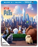 MediaMarkt.de: Pets (Steel-Edition) Exclusiv Media Markt [3D Blu-ray] für 25€