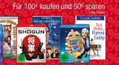 Amazon.de: Für 100 EUR kaufen und 50 EUR sparen (bis 28.08.16)