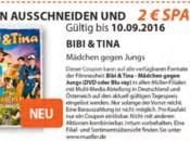 Müller: Bibi & Tina Mädchen gegen Jungs [Blu-ray/DVD] – 2€ Sparen