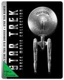 Amazon.de: Star Trek Three Movie Collection – Steelbook Edition [Blu-ray] [Limited Edition] für 17,95€ + VSK