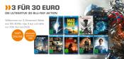 Amazon kontert Saturn.de: 3 für 30€ Aktion bei 3D Blu-rays (bis 21.08.16)