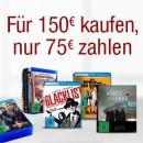 Amazon.de: Jetzt für 150 EUR kaufen, nur 75 EUR zahlen (bis 12.09.16)