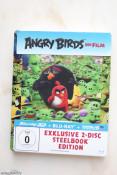 [Review] Angry Birds – Der Film (Exklusives Steelbook 3D-Steelbook mit Lentikularkarte [3D-Blu-ray]
