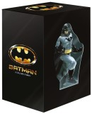 Amazon.fr: BLITZANGEBOT Batman Collection – Coffret Collector Edition Limitée – Intégrale des 4 Films (1989-1997) DVD+Blu-Ray + Statue Batman für 29,95€ + VSK