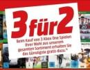 Amazon kontert MediaMarkt.de: Neuer Prospekt mit u.a. Blu-ray Angebote & 3 für 2 Aktion auf XBox One Games