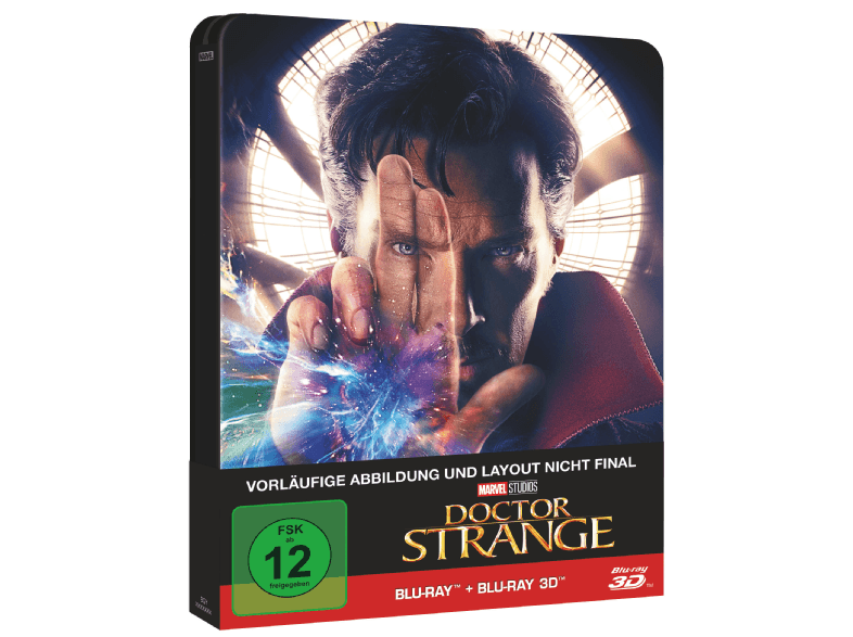 Doctor Strange 2D+3D Steelbook