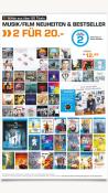 Saturn.de: Aktueller Prospekt mit 2 für 20€ Aktion auf ausgewählte Filme und Musik