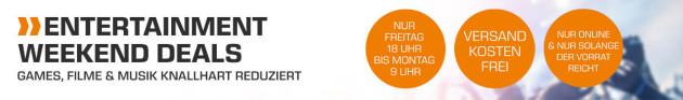 Saturn.de: Weekend Deals mit u.a. Jupiter Ascending + Storm Hunters Steelbook für je 5 EUR
