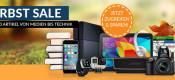 rebuy.de: Herbst Sale mit über 200 Artikel von Medien bis Technik + 7€ Gutschein (40€ MBW)