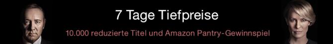 Amazon.de: 7 Tage Tiefpreise – Filme & Serien reduziert (bis 23.10.16)