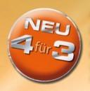 Müller: Neue 4für3 Aktion offizielle Liste (ab 27.11.2016)