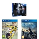 Amazon.co.uk: Sony PlayStation 4 500GB Uncharted 4 Bundle + FIFA 17 + Final Fantasy XV: Day One Edition (PS4) für 263€ inkl. VSK