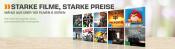 Saturn.de: Starke Filme, starke Preise