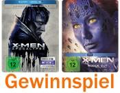 [Gewinnspiel] Bluray-Dealz.de: X-Men Apocalypse Steelbook & X-Men – Zukunft ist Vergangenheit Steelbook (bis 13.11.16)