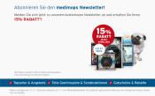 Medimops.de: 15% Rabatt ohne Mindestbestellwert