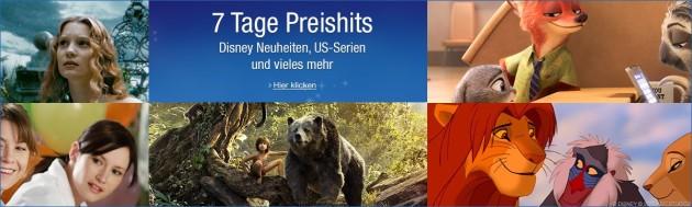 Amazon.de: Wochenaktionen (12.12. – 18.12.16) – 7 Tage Disney Preishits und Film- & Serien-Boxen reduziert uvm.