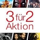 Amazon.de: Fox 3 für 2 Aktion & Zwei Disney Klassiker für 15 EUR