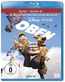 Amazon.de: Oben (+ Bonus-Disc + Blu-ray 2D) [Blu-ray 3D] für 8,99€ + 3€ VSK