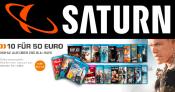 Saturn.de: 10 Blu-rays für 50€ inklusive Versand (neue Aktion)