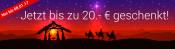 Weltbild.de: 5€, 10€ oder 20€ Gutschein bis 08.01.2017