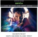 Zavvi.de: Das Beste für 2017 | Ausverkauf bis zu 80% Rabatt – KAUFE 2 UND SPARE 10%