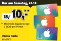 [Offline] Conrad: 15€ iTunes Karten für 10€ (nur am 24.12.16 und nur in den Filialen)
