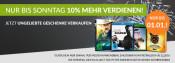 Rebuy.de: bis Sonntag 10% mehr verdienen, 10% on Top auf alle Medien