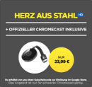 Wuaki.tv: Google Chromecast + Fury- Herz aus Stahl [HD] (Stream) für 23,99€ inkl. VSK