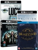 Amazon.co.uk: January Deals mit u.a. 4K Ultra HD Blu-rays mit dt. Ton – Lucy, Oblivion, Snow White & the Huntsman für je ca. 15,80€ + VSK