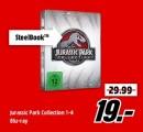 Amazon kontert MediaMarkt.de: WahnsinnsSchnellVerkauf z.B. Jurassic Park Collection 1-4 [Blu-ray] für 19€
