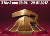 Amazon kontert MediaMarkt.de: 3 für 2 auf die Hollywood Collection vom 18. bis 13.02.17