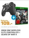 Saturn.de: MICROSOFT Xbox One Elite Wireless Controller + Gears of War 4 für 109€ inkl. VSK