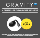 Wuaki.tv: Google Chromecast + Gravity [HD] (Stream) für 23,99€ inkl. VSK