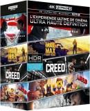 Amazon.fr: Coffret 4K Ultra HD – Batman v Superman + Mad Max Fury Road + Creed + San Andreas + La grande aventure Lego [4K Ultra HD + Blu-ray + Copie Digitale UltraViolet] für 49.99€ + VSK