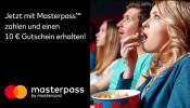 UCI-kinowelt.de: Jetzt Tickets mit Masterpass zahlen und einen 10 Euro-Gutschein für die UCI KINOWELTen erhalten!