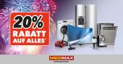 [Offline] MediMax: 20% Rabatt auf fast alles am 02.01.+.03.01.17 (ausgewählte Filialen)