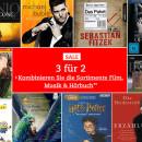 Thalia.de: 3 für 2 Aktion auf ausgewählte Filme, Musik und Hörbücher (gültig bis 05.02.2017) )