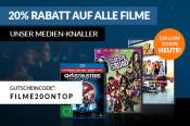 ReBuy.de: 20% Rabatt auf alle Filme bis 15.02.2017 (MBW 20€)